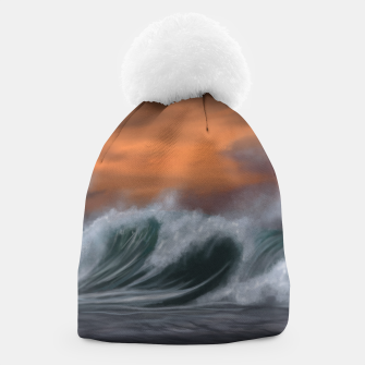 Thumbnail image of Moody Waves Beanie, Live Heroes