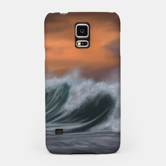 Thumbnail image of Moody Waves Samsung Case, Live Heroes