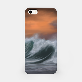 Thumbnail image of Moody Waves iPhone Case, Live Heroes