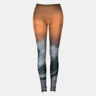 Thumbnail image of Moody Waves Leggings, Live Heroes