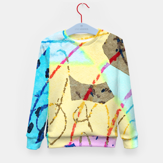 Thumbnail image of Cheerful Kid's sweater, Live Heroes