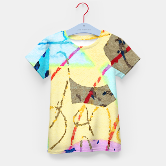 Thumbnail image of Cheerful Kid's t-shirt, Live Heroes