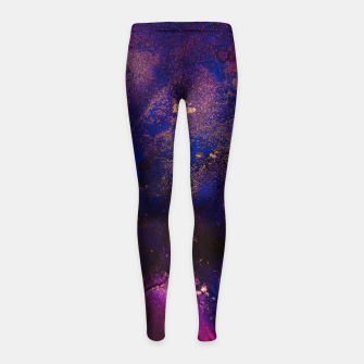 Thumbnail image of Average Dreams Girl's leggings, Live Heroes