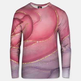Thumbnail image of Gold Edged Rose Unisex sweater, Live Heroes