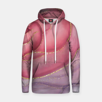 Thumbnail image of Gold Edged Rose Hoodie, Live Heroes