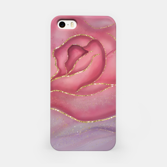 Thumbnail image of Gold Edged Rose iPhone Case, Live Heroes