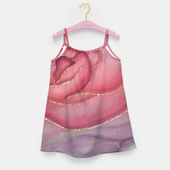 Thumbnail image of Gold Edged Rose Girl's dress, Live Heroes