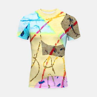 Thumbnail image of Cheerful Shortsleeve rashguard, Live Heroes