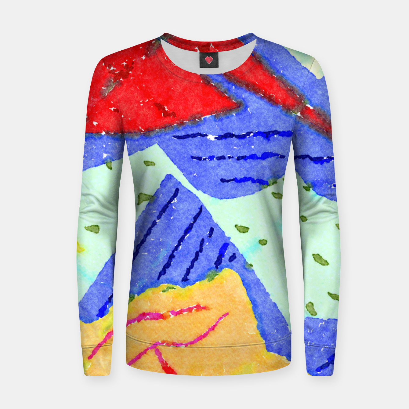 Image of Hiking Women sweater - Live Heroes