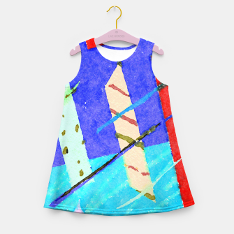 Miniaturka Preme Tech Girl's summer dress, Live Heroes