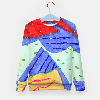 Miniatur Hiking Kid's sweater, Live Heroes