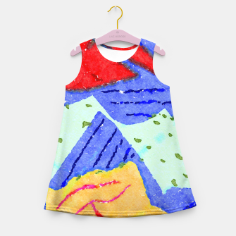 Miniatur Hiking Girl's summer dress, Live Heroes