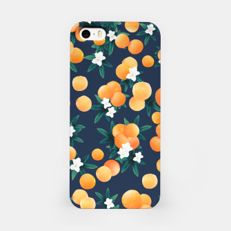 Thumbnail image of Orange Twist Flower Night Vibes #2 #tropical #fruit #decor #art  iPhone-Hülle, Live Heroes