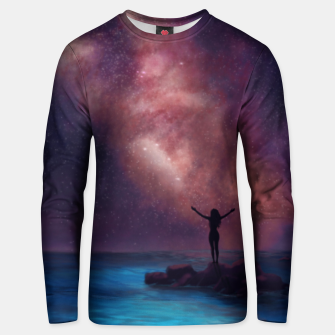 Thumbnail image of Between the stars and the seaa Unisex sweater, Live Heroes