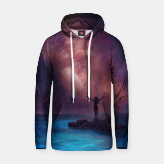 Thumbnail image of Between the stars and the seaa Hoodie, Live Heroes