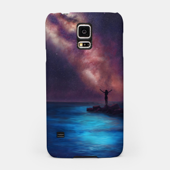 Thumbnail image of Between the stars and the seaa Samsung Case, Live Heroes