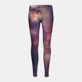 Thumbnail image of Between the stars and the seaa Girl's leggings, Live Heroes