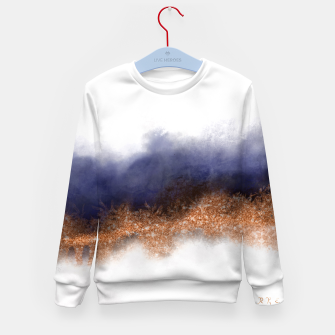 Thumbnail image of Copper Mood Kid's sweater, Live Heroes
