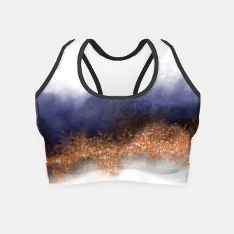 Thumbnail image of Copper Mood Crop Top, Live Heroes