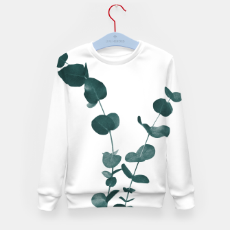 Miniaturka Eucalyptus Leaves Dream #3 #foliage #decor #art Kindersweatshirt, Live Heroes
