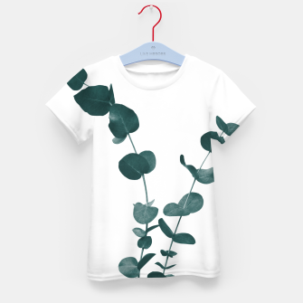 Miniaturka Eucalyptus Leaves Dream #3 #foliage #decor #art T-Shirt für kinder, Live Heroes