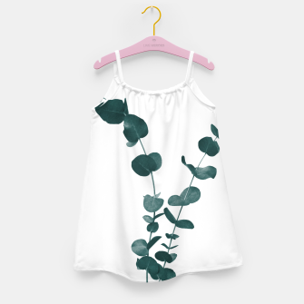 Miniaturka Eucalyptus Leaves Dream #3 #foliage #decor #art Mädchenkleid, Live Heroes