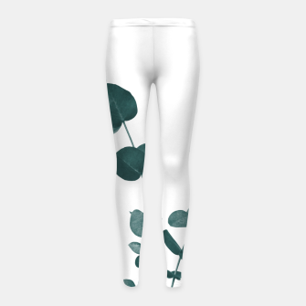 Miniaturka Eucalyptus Leaves Dream #3 #foliage #decor #art Kinder-Leggins, Live Heroes