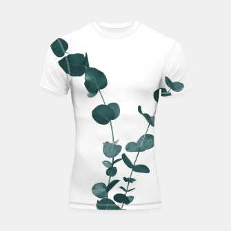 Miniaturka Eucalyptus Leaves Dream #3 #foliage #decor #art Shortsleeve rashguard, Live Heroes