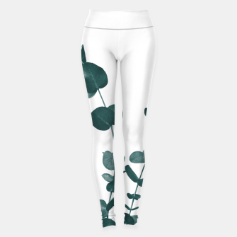 Miniaturka Eucalyptus Leaves Dream #3 #foliage #decor #art Leggings, Live Heroes