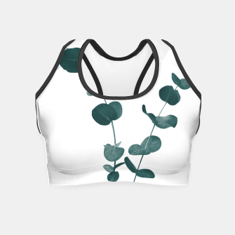 Miniaturka Eucalyptus Leaves Dream #3 #foliage #decor #art Crop Top, Live Heroes