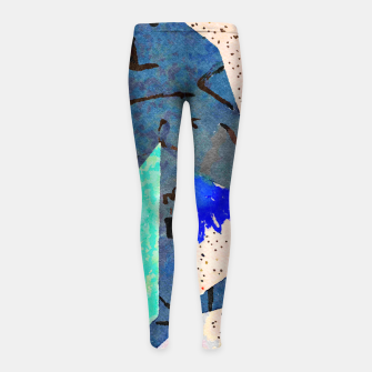 Miniaturka Moonlight Girl's leggings, Live Heroes