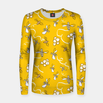Thumbnail image of Honey Bees Women sweater, Live Heroes