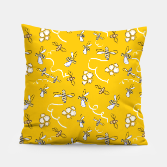 Thumbnail image of Honey Bees Pillow, Live Heroes