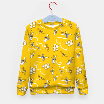 Thumbnail image of Honey Bees Kid's sweater, Live Heroes