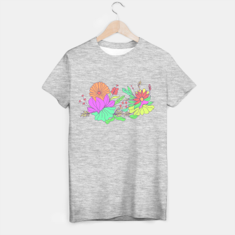 Thumbnail image of Floral tropical illustration T-shirt regular, Live Heroes