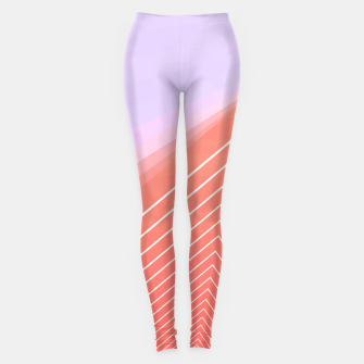 Thumbnail image of Linear geometric minimal Leggings, Live Heroes