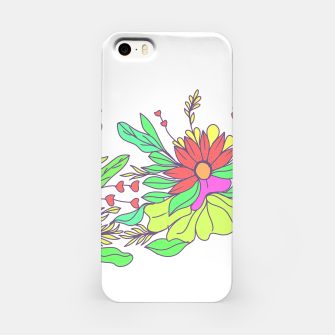 Thumbnail image of Floral tropical illustration iPhone Case, Live Heroes