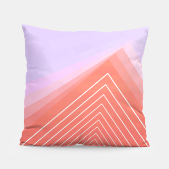 Thumbnail image of Linear geometric minimal Pillow, Live Heroes