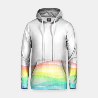 Thumbnail image of Rainbow love colourful minimal Hoodie, Live Heroes