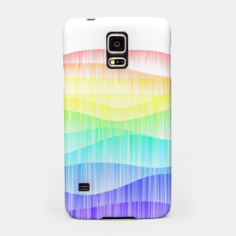 Thumbnail image of Rainbow love colourful minimal Samsung Case, Live Heroes