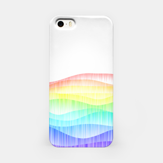 Thumbnail image of Rainbow love colourful minimal iPhone Case, Live Heroes