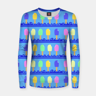 Thumbnail image of Ice Cream Bars Women sweater, Live Heroes