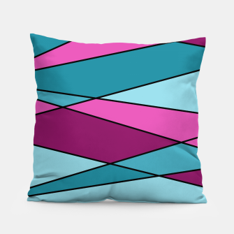 Miniaturka Abstract modern geometry triangles decor shapes print Pillow, Live Heroes