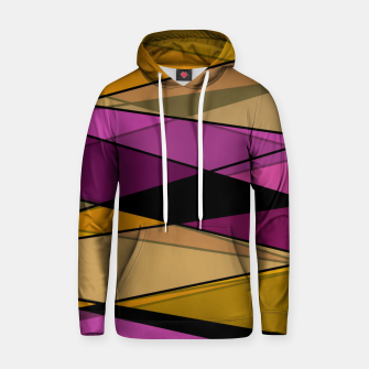 Miniaturka Abstract modern geometry triangles decor shapes print Hoodie, Live Heroes