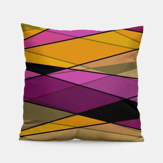 Miniature de image de Abstract modern geometry triangles decor shapes print Pillow, Live Heroes