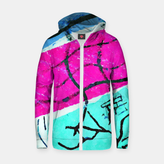 In Bloom Zip up hoodie thumbnail image
