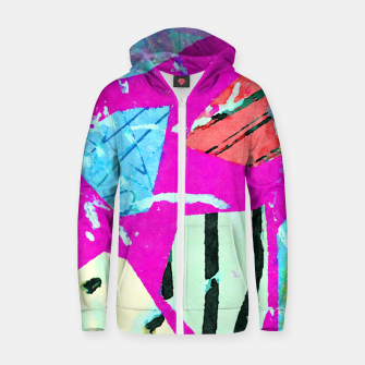 Thumbnail image of Polly Zip up hoodie, Live Heroes