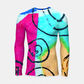 Thumbnail image of Shaped Box Longsleeve rashguard , Live Heroes