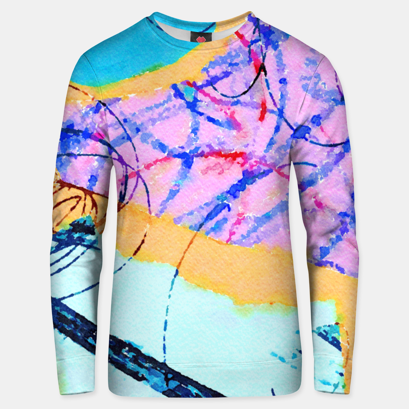 Image of Drain You Unisex sweater - Live Heroes