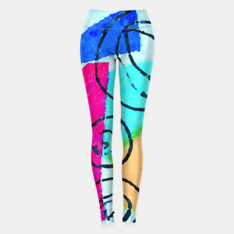 Miniatur Shaped Box Leggings, Live Heroes